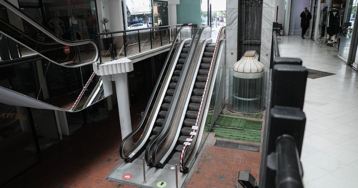Lockdown: Χαμηλή ορατότητα και για τα εμπορικά κέντρα