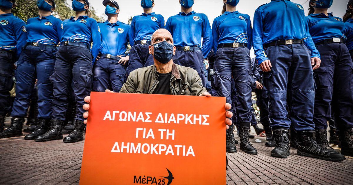 Βαρουφάκης: Είμαστε 7 βουλευτές με αποστάσεις