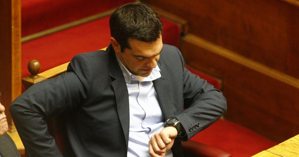 Το πολιτικό ρολόι του Αλέξη Τσίπρα
