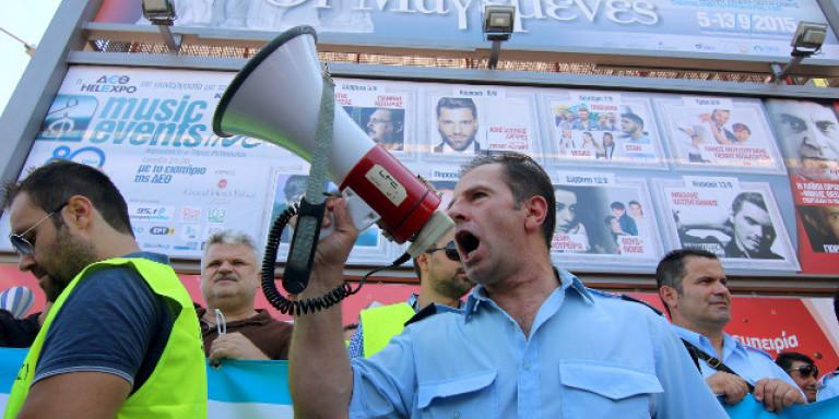 Αστυνομικοί, πυροσβέστες και λιμενικοί διαμαρτύρονται ενάντια στα «ψέματα» της κυβέρνησης | ΕΛΛΑΔΑ