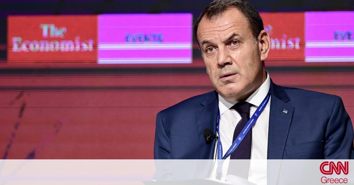 Παναγιωτόπουλος στο Economist: Επενδύσεις στον τομέα της Άμυνας σε δύο πτυχές