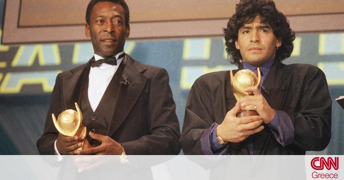 Μαραντόνα: Συγκινητικό αντίο του Πελέ – «Θα κλωτσάμε μαζί την μπάλα στον ουρανό»