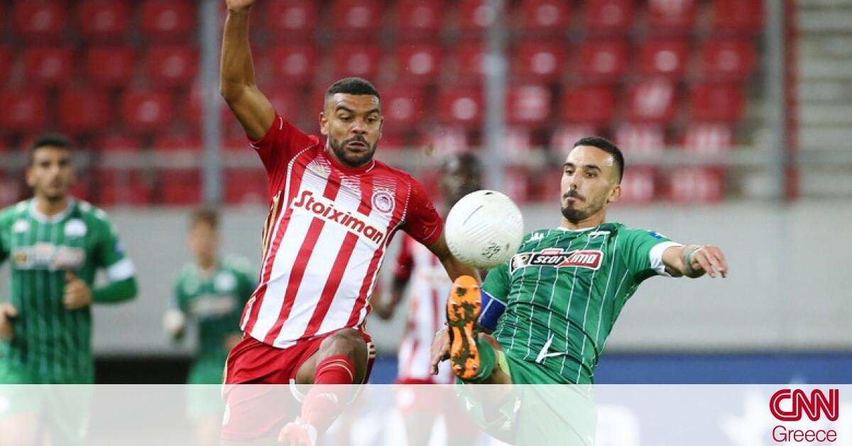 Ολυμπιακός – Παναθηναϊκός 1-0: Ερυθρόλευκη νίκη με Φορτούνη