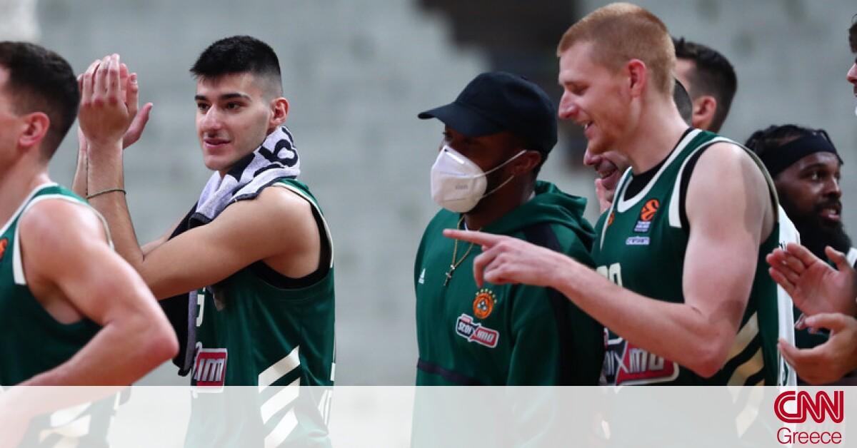 Παναθηναϊκός ΟΠΑΠ – Μπάγερν Μονάχου 83-76: Έκανε restart και ετοιμάζεται για τη συνέχεια