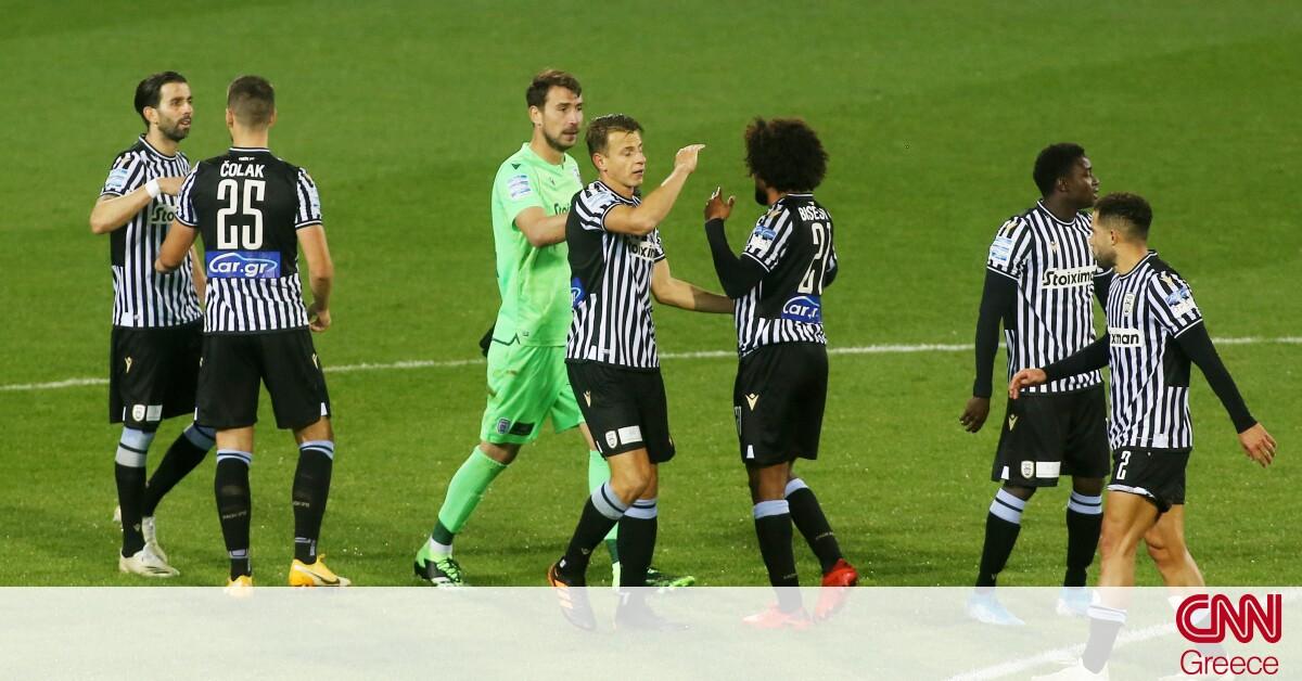ΠΑΟΚ – ΠΑΣ Γιάννινα 2-1: Νίκη στις καθυστερήσεις