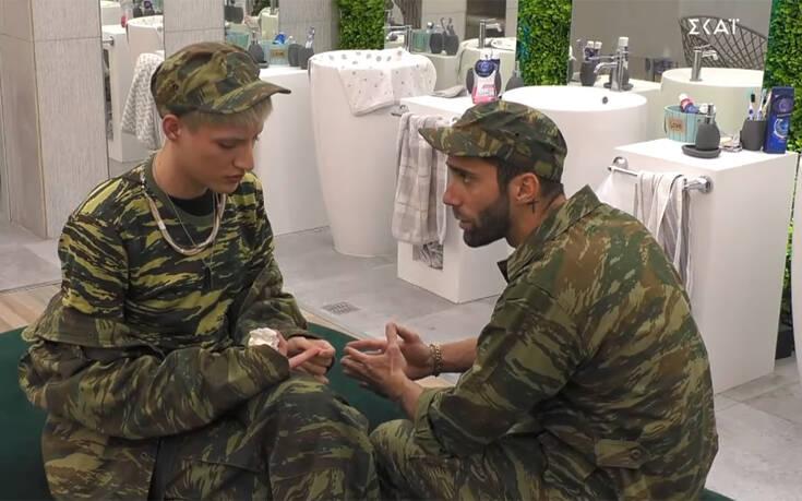 Στο Big Brother πήγαν… στρατό και ο Θέμης έπαθε «πολιτισμικό σοκ» – Newsbeast