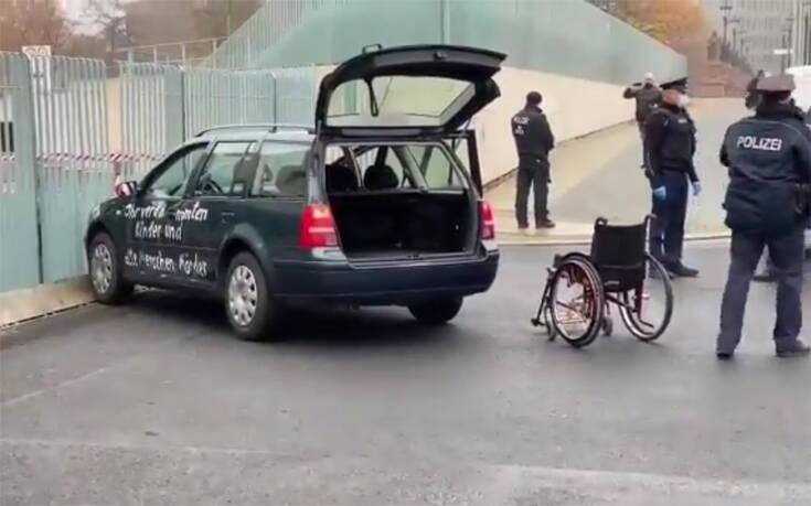 Αυτοκίνητο έπεσε στην Καγκελαρία που βρίσκεται το γραφείο της Άνγκελα Μέρκελ – Newsbeast