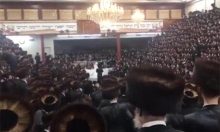 Πρόστιμο 15.000 δολάρια σε συναγωγή στη Νέα Υόρκη για γάμο με χιλιάδες συμμετέχοντες