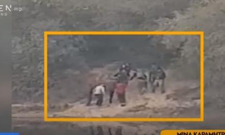 Βίντεο-ντοκουμέντο: Τούρκοι στρατιωτικοί δείχνουν περάσματα σε διακινητές στον Έβρο