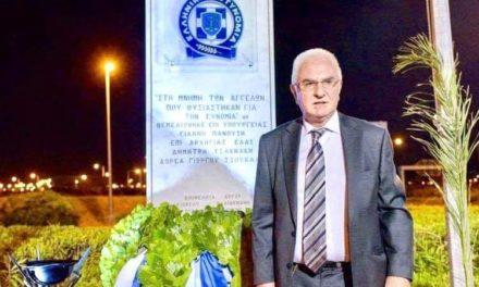 Γιώργος Τσούκαλης: Στοιχειώδης ανθρωπιά ο σεβασμός στους αστυνομικούς