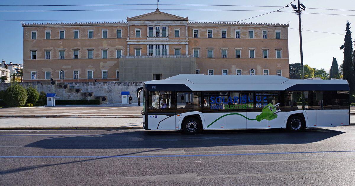 Και τρίτο ηλεκτρικό λεωφορείο στην Αθήνα, πιλοτικά