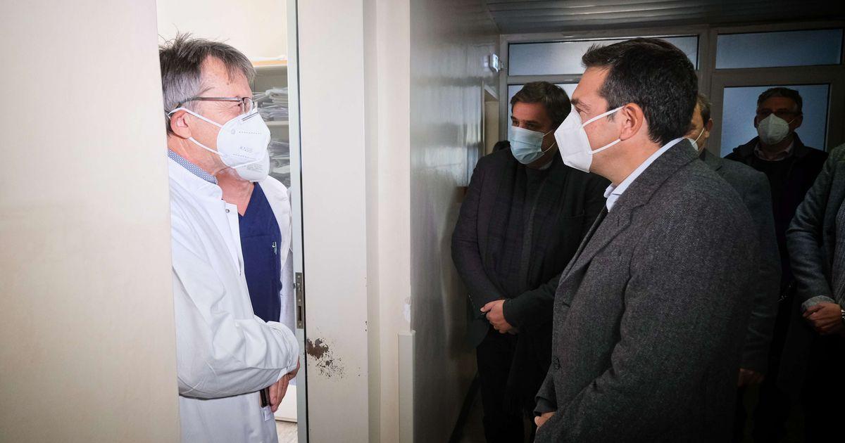 Δράμα: «Θέλουμε στήριξη, δεν αντέχουμε άλλο – 140 ασθενείς με 5 γιατρούς δεν αντιμετωπίζονται» είπαν οι γιατροί στον Τσίπρα