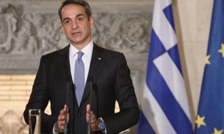Μητσοτάκης: «Δεν μπορούμε να περιμένουμε ότι η Τουρκία θα αλλάξει τη συμπεριφορά της αν δεν της ασκηθεί πίεση»