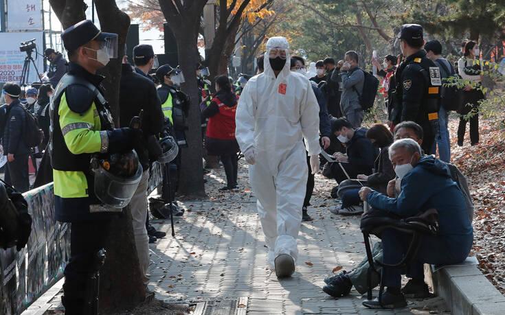 Ξεπέρασαν ξανά τα 500 τα κρούσματα του κορονοϊού στη Νότια Κορέα – Newsbeast