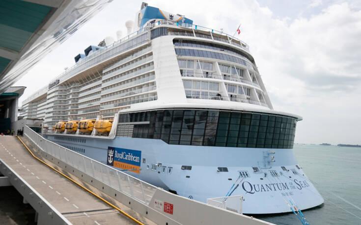 Κρούσμα κορονοϊού σε κρουαζιερόπλοιο στη Σιγκαπούρη – 1.700 επιβάτες σε καραντίνα