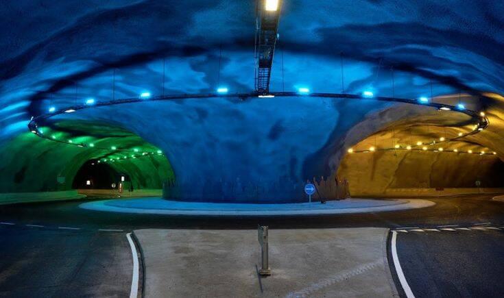 Εντυπωσιάζει το υποθαλάσσιο τούνελ 11 χλμ. κάτω από τον Ατλαντικό – Δείτε φωτογραφίες και βίντεο