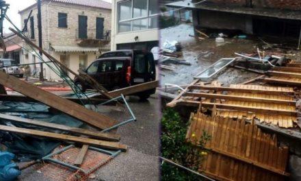 """Απίστευτες εικόνες καταστροφής από τον ανεμοστρόβιλο που """"σάρωσε"""" τον Αστακό Αιτωλοακαρνανίας – ΦΩΤΟ"""