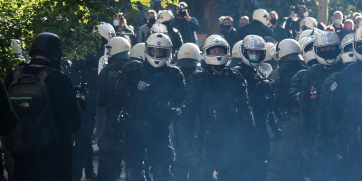 Επέτειος Γρηγορόπουλου: 374 προσαγωγές και 135 συλλήψεις της ΕΛ.ΑΣ. στην Αθήνα