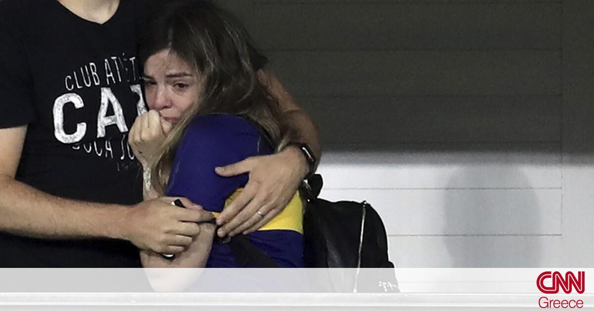 Μαραντόνα: Ο συγκινητικός φόρος τιμής της Μπόκα και το ξέσπασμα της κόρης του