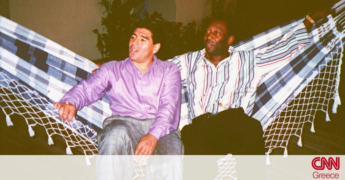 «Είσαι ασύγκριτος»: Το συγκινητικό αντίο του Πελέ στον θρυλικό Μαραντόνα