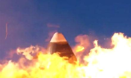 Η στιγμή της έκρηξης μη επανδρωμένου πυραύλου της SpaceX στην προσγείωση – Newsbeast