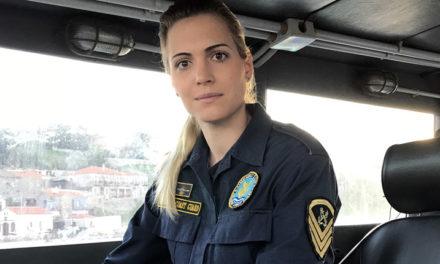 Η μόνη γυναίκα κυβερνήτης σκάφους του ΛΣ στα ανατολικά σύνορα