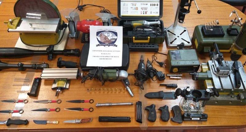 Χειροπέδες σε 50χρονο που πουλούσε «πειραγμένα» αεροβόλα όπλα