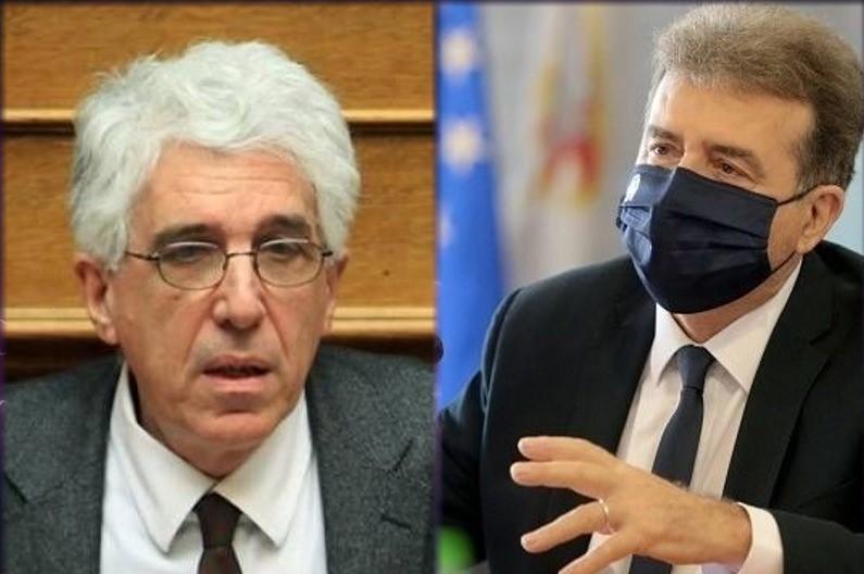 """Ο Νίκος Παρασκευόπουλος κατηγορεί για """"ελαφρότητα"""" τον Μιχ. Χρυσοχοΐδη"""