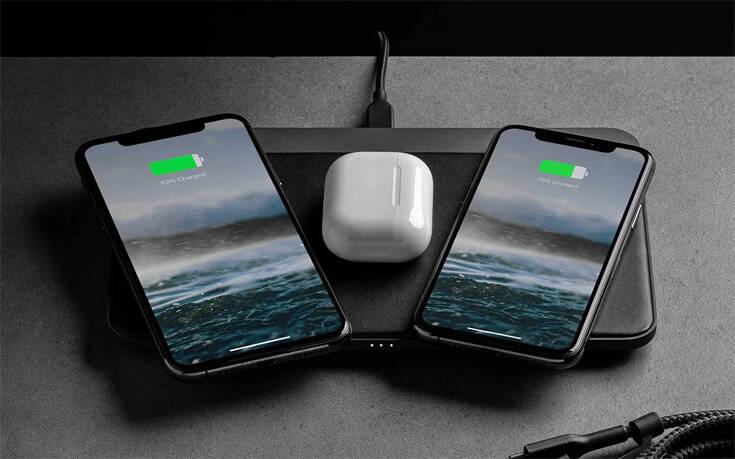 Η ασύρματη βάση που φορτίζει ως και τρεις συσκευές ταυτοχρόνως – Newsbeast