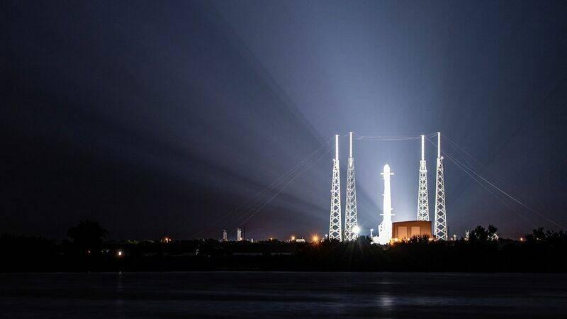 Ακυρώθηκε εκτόξευση πυραύλου της SpaceX δύο δευτερόλεπτα πριν ολοκληρωθεί η αντίστροφη μέτρηση