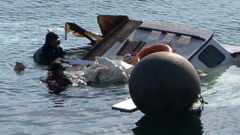 Συνεχίζονται οι έρευνες για το ναυάγιο στην Καλόλιμνο
