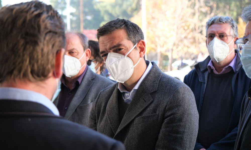 """Τσίπρας: Οι υπουργοί να μην ωραιοποιούν μια δραματική πραγματικότητα στα νοσοκομεία – """"Εκτός ελέγχου η κατάσταση"""" στην Δράμα – BINTEO"""