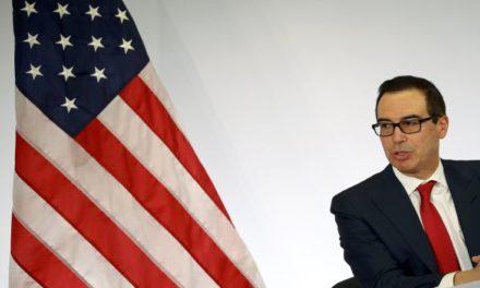 Ο Αμερικανός υπουργός Οικονομικών καταδικάζει τις βιαιότητες στο Καπιτώλιο