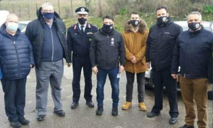 Οι αστυνομικοί των Ιωαννίνων στον Ν. Χαρδαλιά για την Κακαβιά