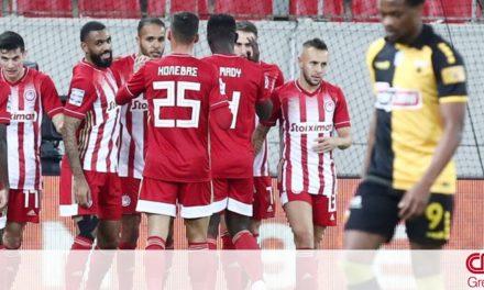 Ολυμπιακός-ΑΕΚ 3-0: Νίκη για τους «ερυθρόλευκους»
