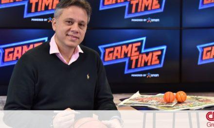 Ο κόουτς Δικαιουλάκος στο ΟΠΑΠ GAME TIME ΜΠΑΣΚΕΤ