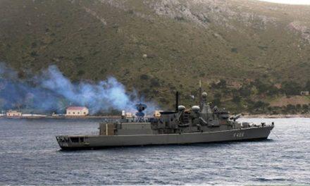 Το μήνυμα του αρχηγού στόλου στα πληρώματα: «Τούτα τα νερά είναι δικά μας»