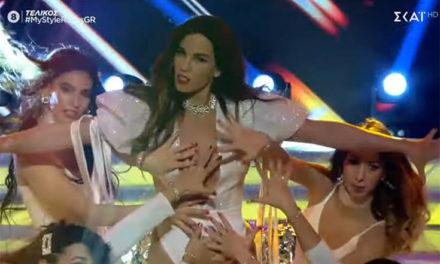 Η Κατερίνα Στικούδη «έβαλε» φωτιά στον τελικό με τον σέξι χορό της – Newsbeast