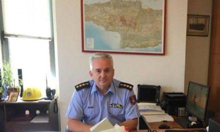 Αποστρατεύτηκε ο Νίκος Λαγουδάκης από την Πυροσβεστική