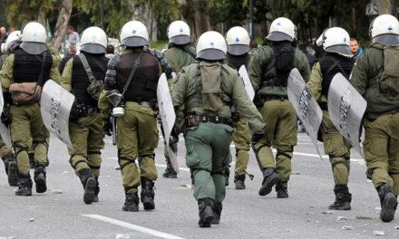 Τα ΜΑΤ στη Λέσβο δεν πήγαν ως δυνάμεις κατοχής