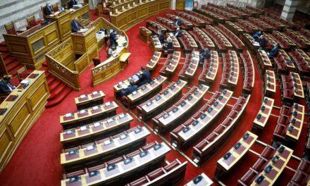 Βουλή: Κόντρα ΝΔ- ΣΥΡΙΖΑ για την διαχείριση της πανδημίας