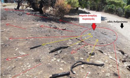 Έγγραφο αποκαλύπτει την υποεκτίμηση της πυρκαγιάς στο Μάτι από την Περιφέρεια