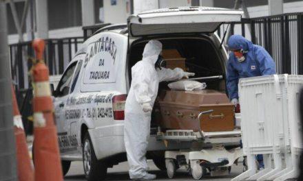 Τραγική εκτίναξη του αριθμού των νεκρών στη Βραζιλία: 1.641 σε ένα 24ωρο