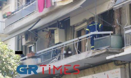 """Θεσσαλονίκη: Έκρηξη """"ισοπέδωσε"""" διαμέρισμα – Από θαύμα δεν υπήρξαν θύματα – ΒΙΝΤΕΟ – ΦΩΤΟ"""