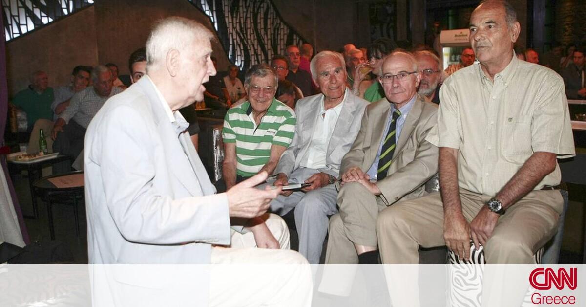 Θρήνος στον Παναθηναϊκό: Πέθανε ο ιστορικός πρόεδρος Μιχάλης Κίτσιος