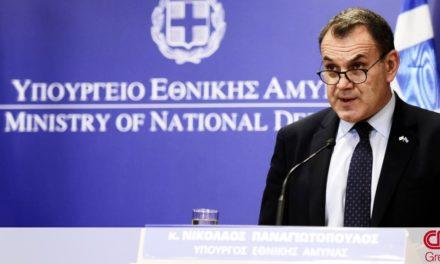 Παναγιωτόπουλος για 25η Μαρτίου: Οι Ένοπλες Δυνάμεις έτοιμες να αντιμετωπίσουν οποιαδήποτε απειλή