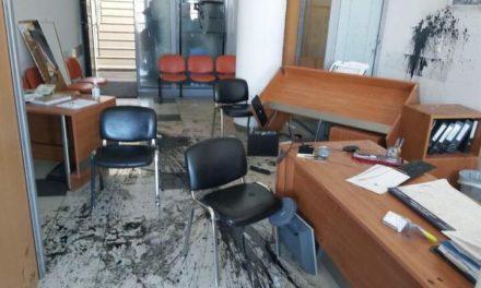 Δύο συλλήψεις για την επίθεση στο γραφείο του Λευτέρη Αυγενάκη