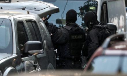 Μεγάλη κινητοποίηση δυνάμεων στην Αγία Βαρβάρα για ταμπουρωμένο ένοπλο