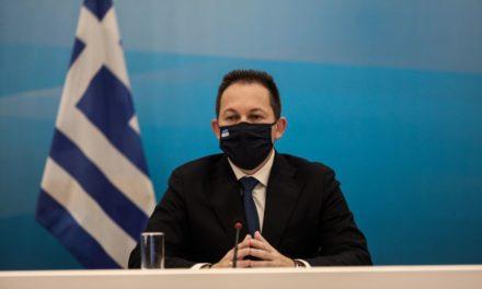 """Πέτσας για """"Μήδεια"""": Σε πλήρη ετοιμότητα ο κρατικός μηχανισμός – Τι απάντησε για την κριτική στο κλείσιμο της εθνικής Αθηνών-Λαμίας – ΒΙΝΤΕΟ"""