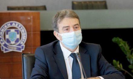 Τι συζήτησε ο Χρυσοχοΐδης στην έκτακτη σύσκεψη με τους αξιωματικούς της ΕΛ.ΑΣ